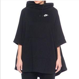 Nike hooded poncho